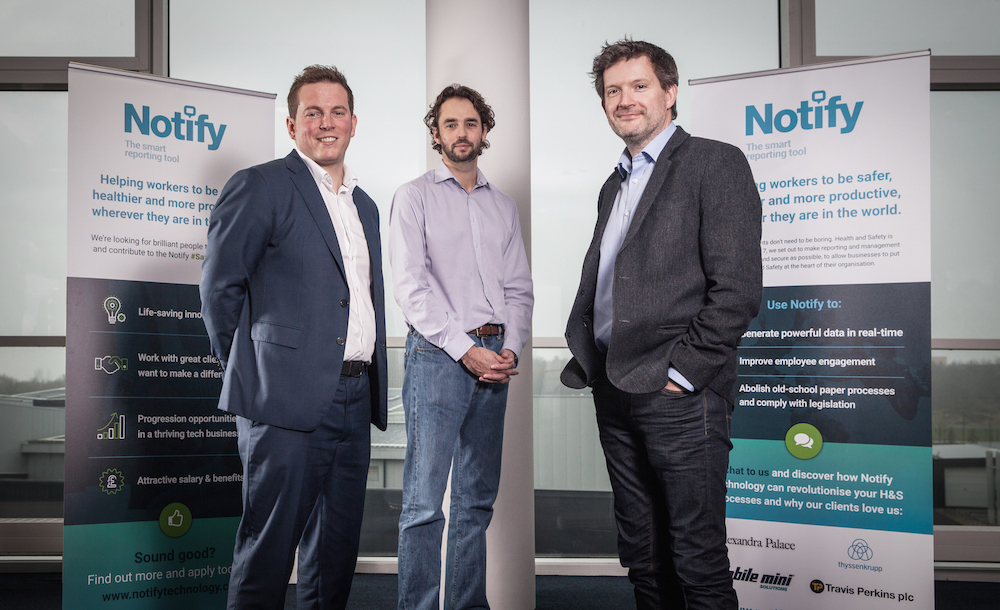 Software firm set to transform workplace health and safety after £500k investment