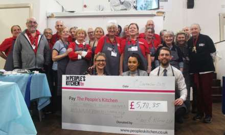 Hay & Kilner Team Cooks Up Four-Figure Donation To The People's Kitchen