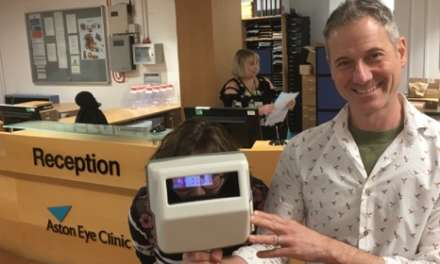 North East Optometrist's invention set to have a national impact