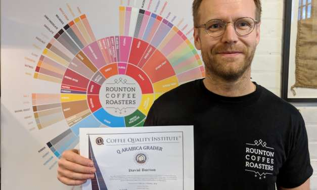 North Yorkshire coffee roaster gains unique industry qualification