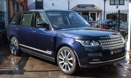 PRINCE PHILLIP'S ROYAL RANGE ROVER GOES FOR SALE ON AUTO TRADER