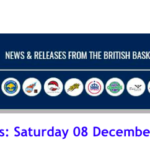 British Basketball League Results: Saturday 08 December 2018