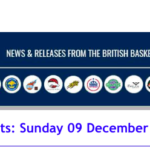 British Basketball League Results: Sunday 09 December 2018