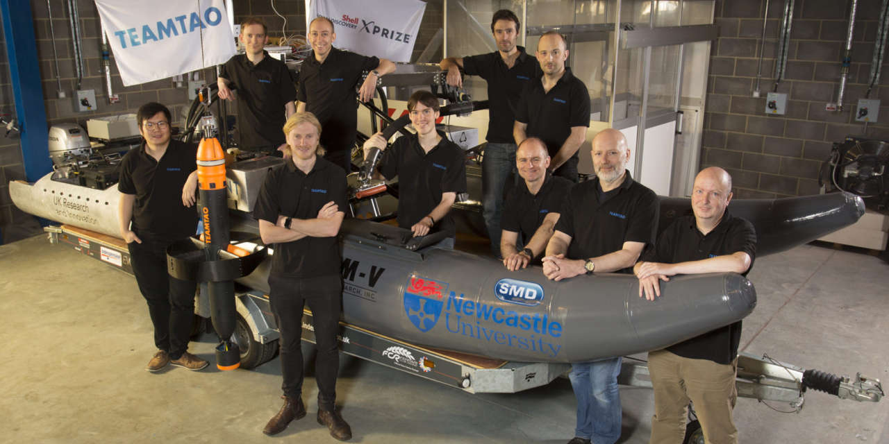 UK team set to take on the world in the Shell Ocean Discovery XPRIZE final