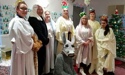 Care home's Nativity play with a Teesside twist