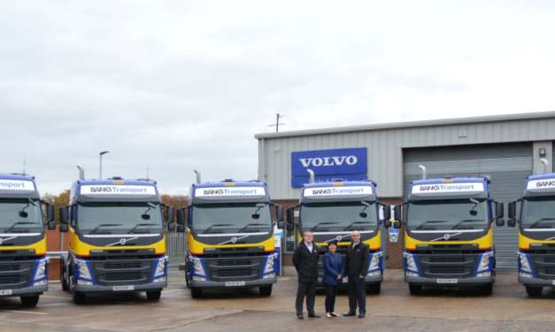 Banks Group Buys Local With Major Six-Figure Investment In New Volvo HGVs