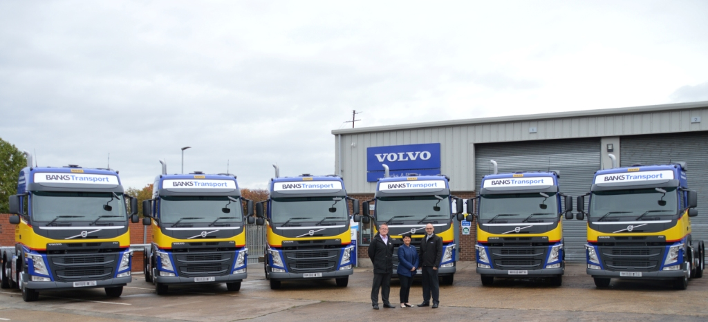 Banks Group Buys Local With MajorSix-Figure Investment In New Volvo HGVs
