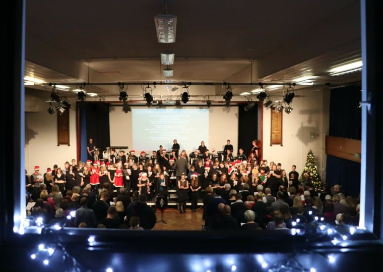 A cracker of a Christmas concert reveals a great surprise!