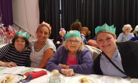 Students organise Christmas lunch for Tyneside elderly