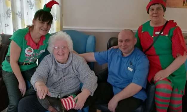 Elf Day sees care home raise funds for dementia fight
