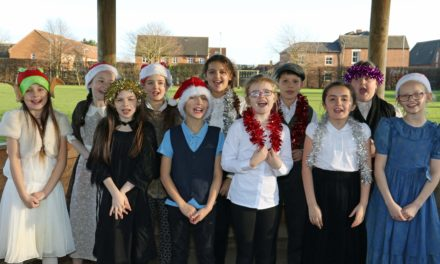 Children in fine voice for Christmas concerts