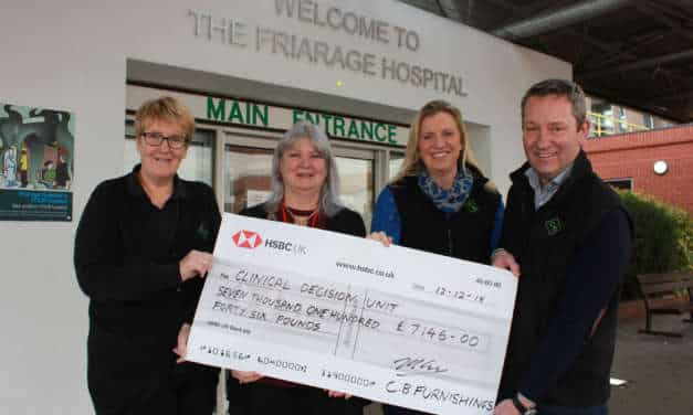 Staff raise money to support hospital appeal