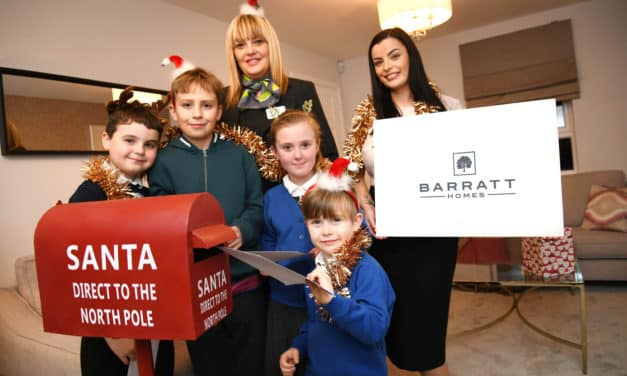 Special Delivery! Local housebuilder set up special Post Boxes to help children send letters to Santa