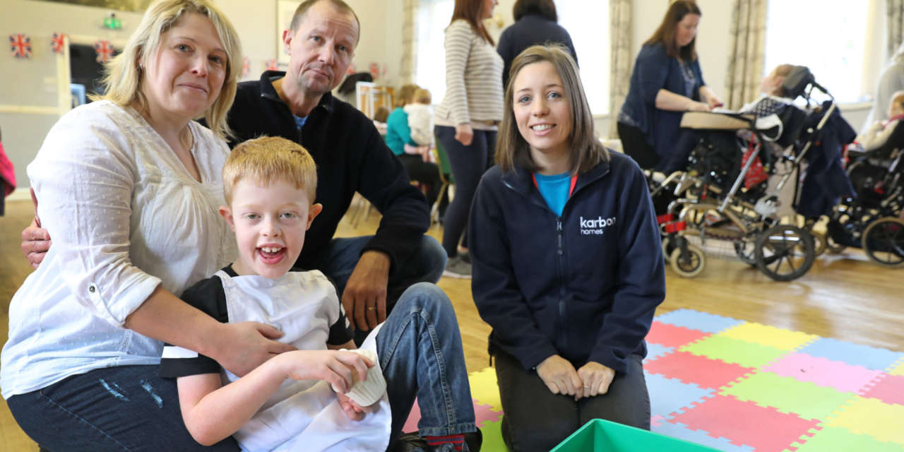 Funding helps group to provide fun activities for young children and families