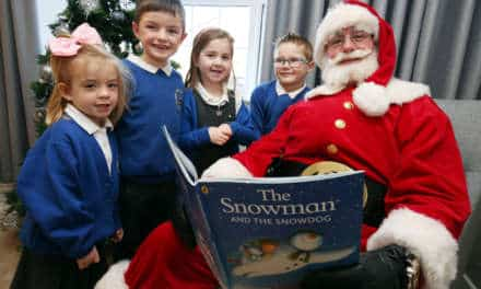 Local housebuilder hosts festive storytelling event with Santa Claus