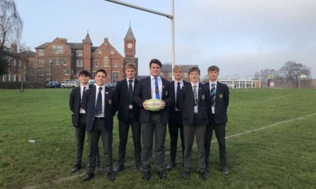 Seven students talent-spotted by elite Yorkshire rugby club