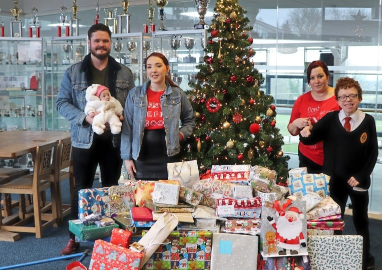 Heart-warming Christmas gifts for the children at the RVI's Great North Children's Hospital