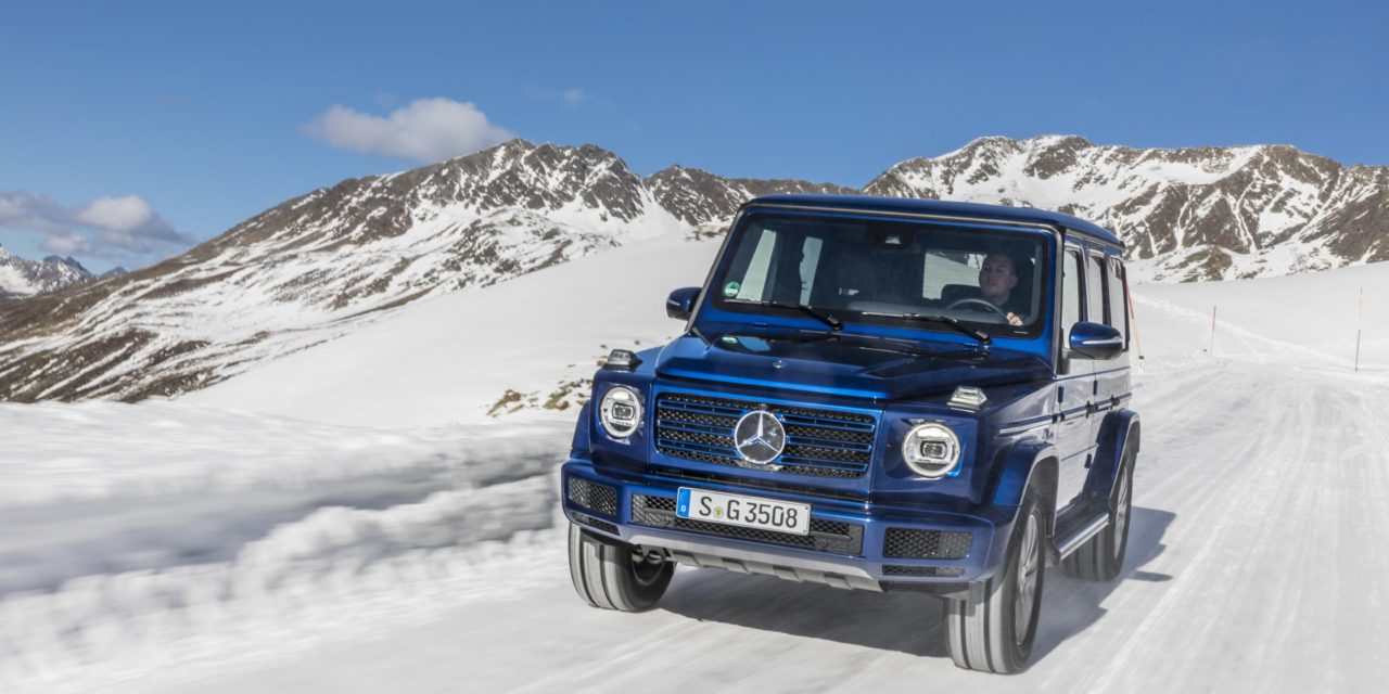 PRICING AND SPECIFICATION FOR THE NEW MERCEDES-BENZ G 350 d REVEALED