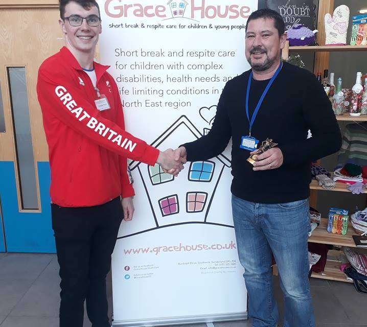 Grace House runner Steven truly is Great!