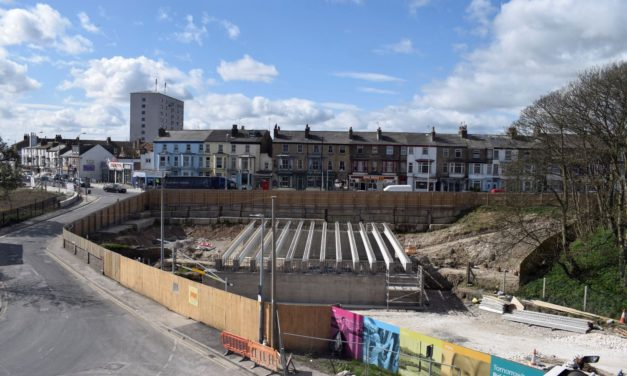 Bridlington urban regeneration scheme shortlisted for prestigious regional award