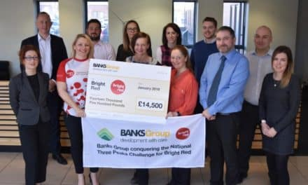Banks Group Staff Raise £14,500 For Bright Red Cancer Charity