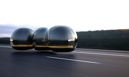 WINNING ENTRY FROM RENAULT DESIGN COMPETITION ON SHOW AT SMITHSONIAN DESIGN MUSEUM, NEW YORK