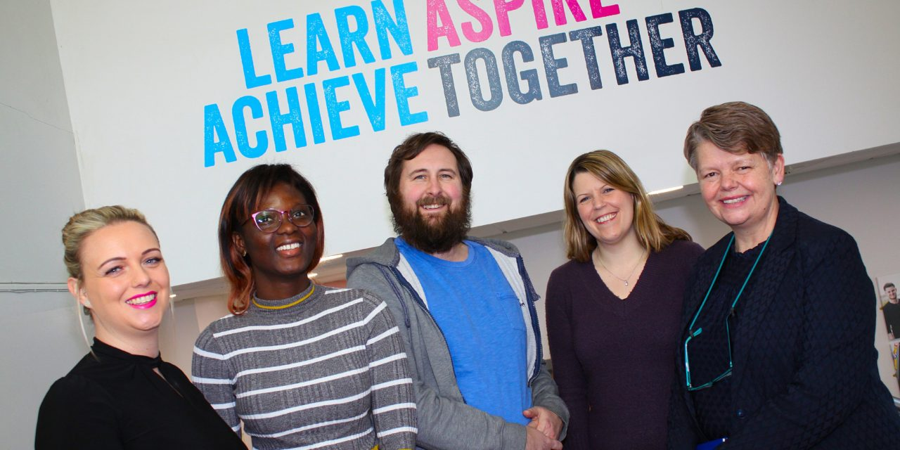 Any time, any place, anywhere – college launches a new route to qualifications