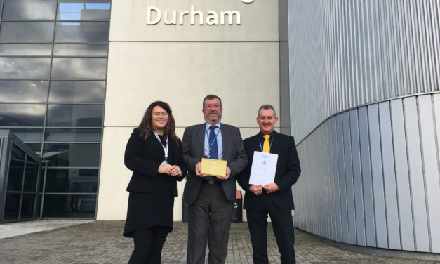 New College Durham awarded Gold Partner status