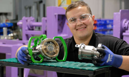 lpha Process Controls shows confidence in the future of former apprentice