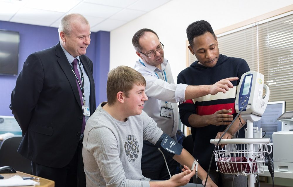 Apprenticeships give healthcare sector an injection of clinical skills