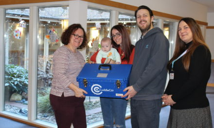Hospice thank family for donating special gift
