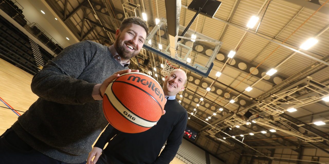 The spotlight is on Newcastle Eagles Community Arena