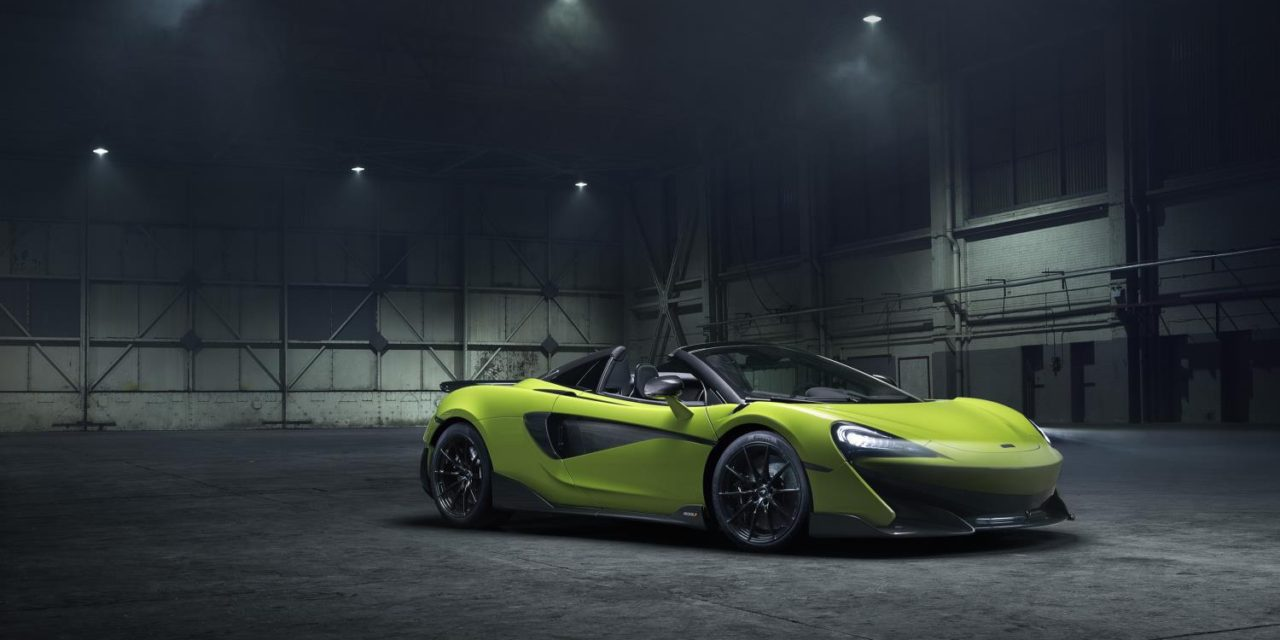 McLAREN 600LT SPIDER: THE SKY'S THE LIMIT FOR NEW LONGTAIL CONVERTIBLE