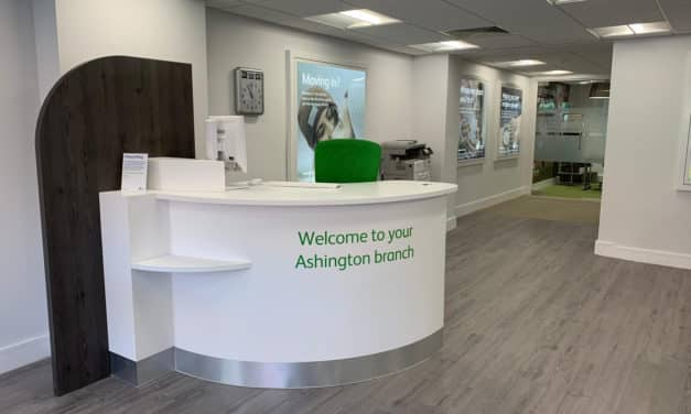 Ashington Branch Of Newcastle Building Society Set To Reveal New Look