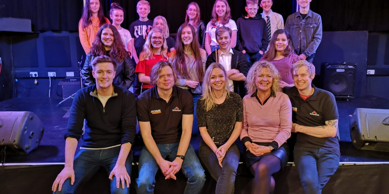 Funding helps youngsters hit the right note