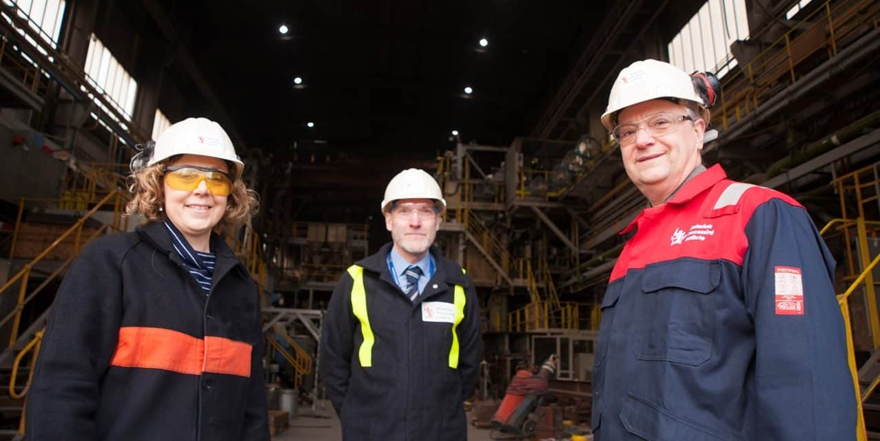Materials Processing Institute collaborates with European partners on ground-breaking steel projects