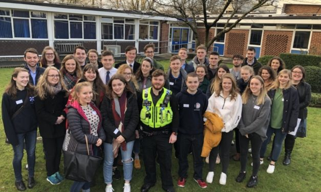 Past pupils return to Ripon Grammar School to talk about life after leaving