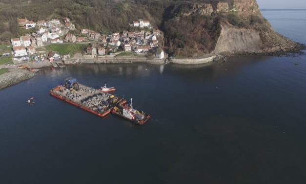 Whitby Coastal Protection Scheme Shortlisted In Prestigious Regional Award
