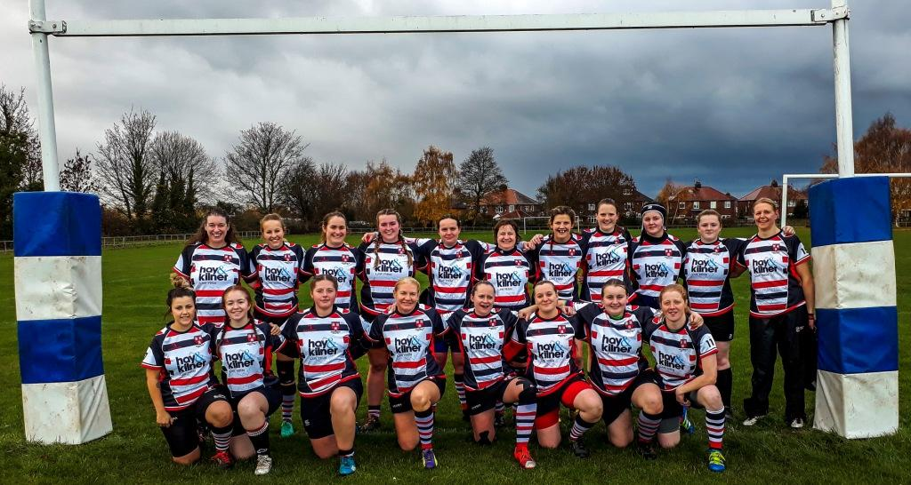 Novos Ladies Lay Down The Law With Hay & Kilner Shirt Sponsorship