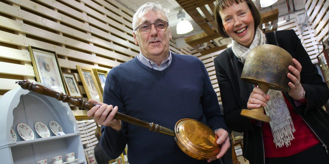 Overseas visitors boost sales at hospice shop