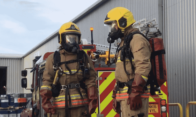 Total Recycling Services ensures safety by working with the fire service