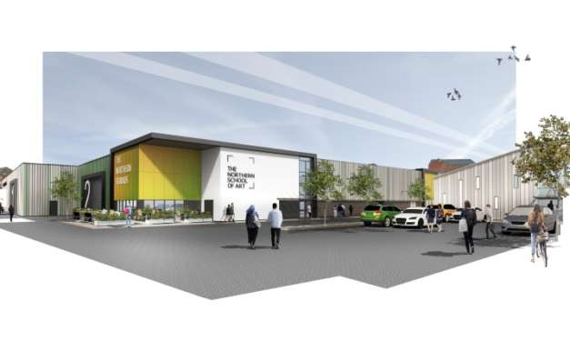 Planning application submitted for a new film & TV studio for the North East