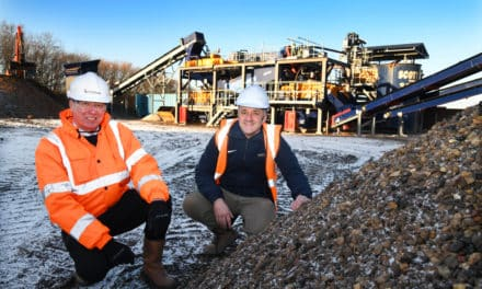 Recycling experts Scott Bros. invests £1m in 'urban quarry' wash plant