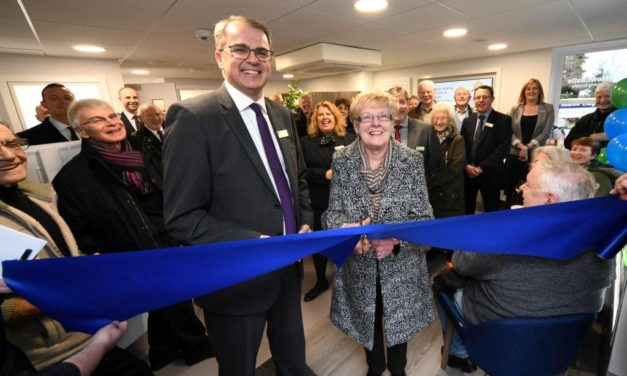 Pam Neville Cuts The Ribbon At Upgraded Newcastle Building Society Whickham Branch