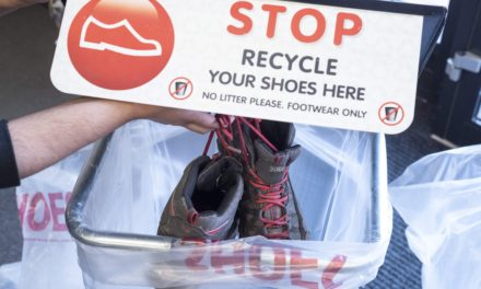STOCKTON SHOE RETAILER HELPS RECYCLE OVER 12 TONNES OF SHOES IN THE LAST YEAR