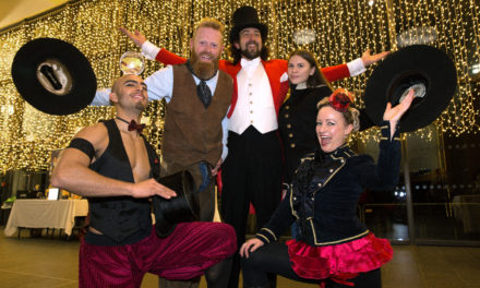 Yarm School tapping its heels and toes at ball in aid of local charity