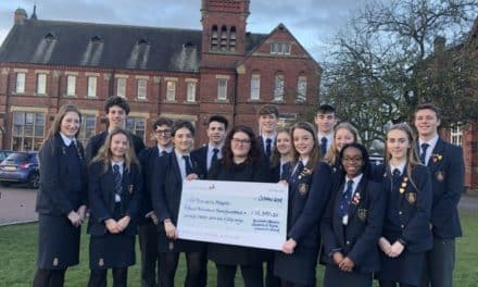Students raise a record-breaking £15,397 for local hospice
