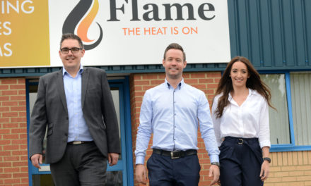 Appointments to 'fan the flame' at heating merchant