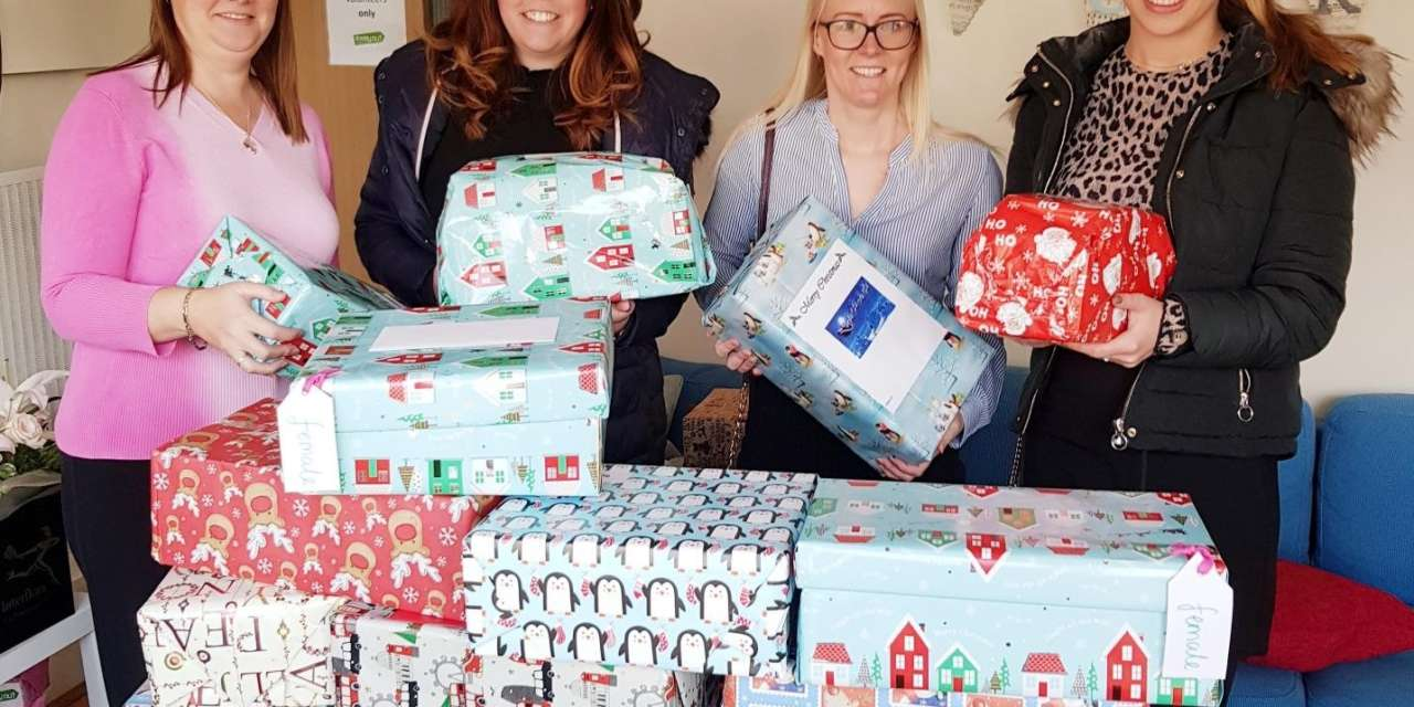 Law Firm Assist Teesside Charity's Christmas 'Shoebox Appeal'