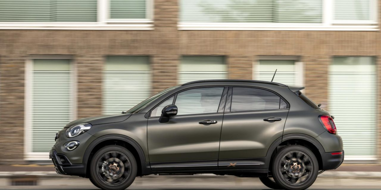 THE NEW FIAT 500X S-DESIGN JOINS THE FAMILY